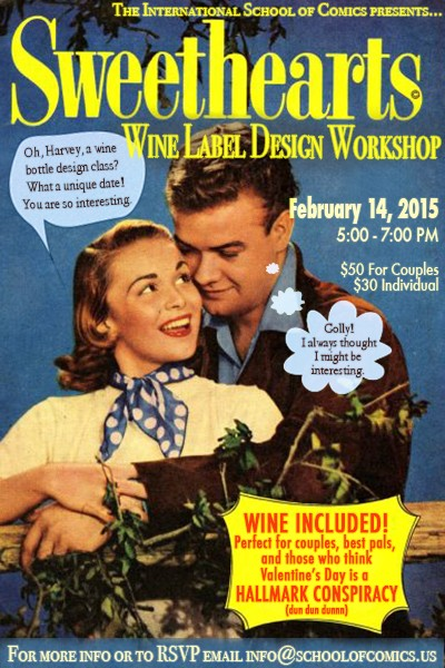 Valentines Wine Design Workshop