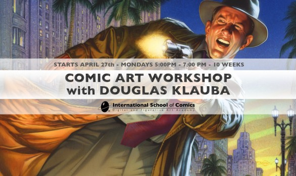 Comic Art Workshop with Douglas Klauba