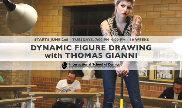 Dynamic Figure Drawing with Thomas Gianni