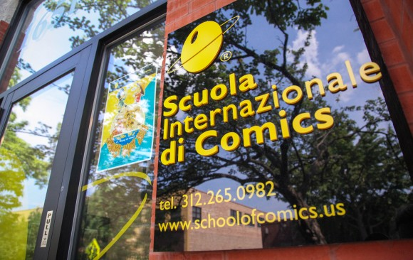 Welcome to the International School of Comics