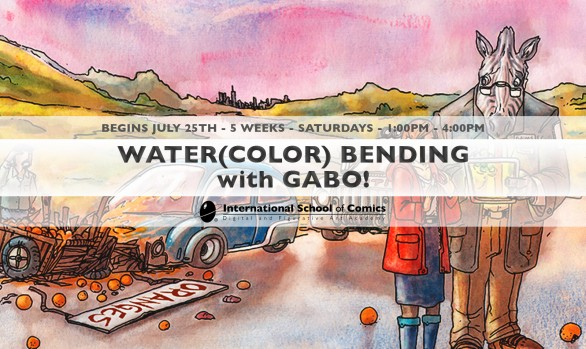 WATER(COLOR) BENDING with GABO!